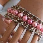 Armband Esmeralda Roze