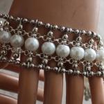 Armband Esmeralda white