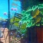 In het zonnetje in je achtertuintje