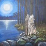 wolven onder de maan