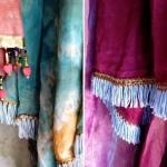 Zijden shawls