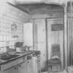Keuken met Brandschade.