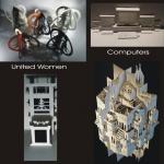 Overzicht abstracte en figuratieve werken