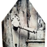 Huis met deurklink