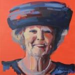 Portret van Beatrix