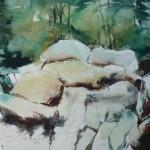 rotsen in de Ardennen