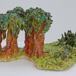 bushes and trees