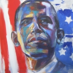 Portret President Barack Obama