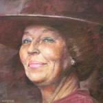 Portret Koningin Beatrix