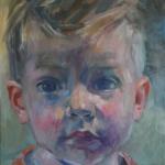 Portretstudie: jongen
