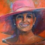Portret Koningin Máxima 2