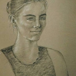 Portret Sanne (in opdracht)
