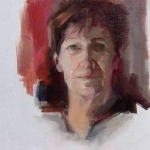 Portret van mijn zus