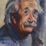 Portretstudie A. Einstein
