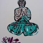 Boeddha met lotusboem (1)