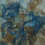 Blauwe paard