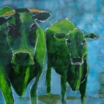 Groene koeien
