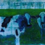 Blauwe koeien
