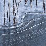 ijzige lijnen