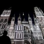 kathedraal in kleuren