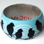 Armband / vogeltjes