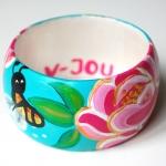 Armband / bloem