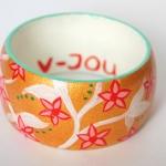 Armband / bloemetjes