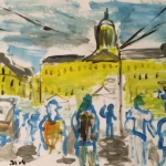 Dufy style on paper 1