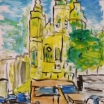Dufy style on paper 2