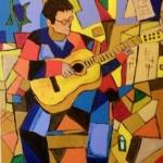 De gitarist als Picasso