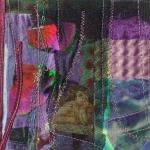 compositie in paars met engel