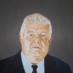 portret van Maurits Borlé