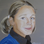 portret van Hannah