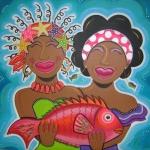 Damanan dushi met vis