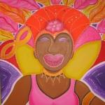 Koningin van het carnaval (Reina di Kanaval)