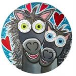 Gekke paarden liefde