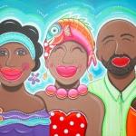 Mooie mensen van Curacao