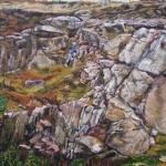 Klampen aan rots