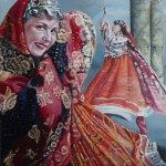 Dance from central asia