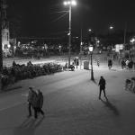 Amsterdam, Waterlooplein bij avond