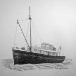 Verbouwd Vissersschip
