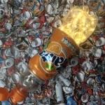 Licht op een vuilnisbelt