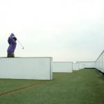 Afslag bij golfbaan Nunspeet