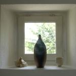 Vaas in raam Frankrijk