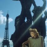 Model in Parijs