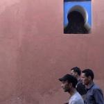 Roze muur Marrakech - Marokko
