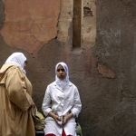 Vrouwen in Marrakech - Marokko
