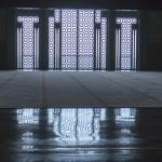 Interieur Hassan II moskee Casablanca