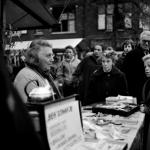 Bea staafjes verkoopster - Markt Bussum
