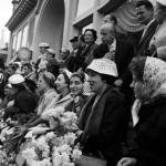 Publiek bij intocht Sinterklaas Busum